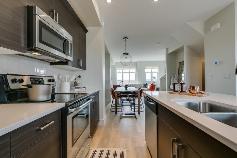 Harvest Townhomes - Kitchen and Dining