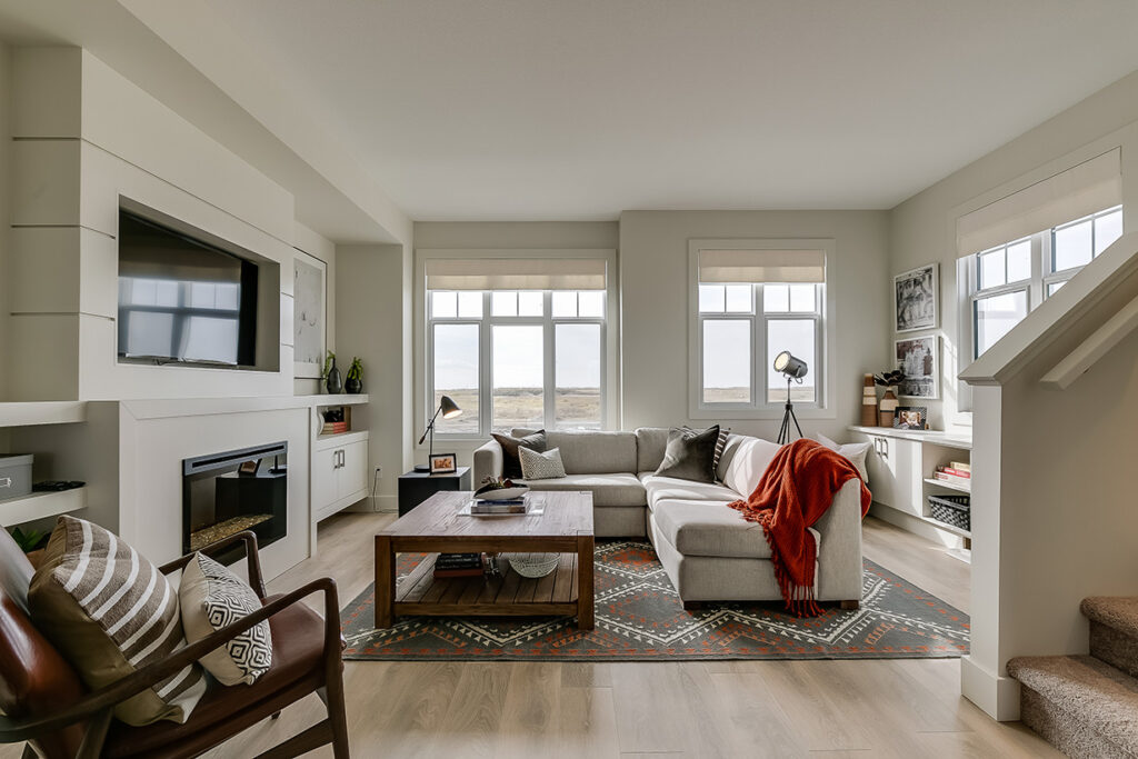 Harvest Townhomes - Living Area