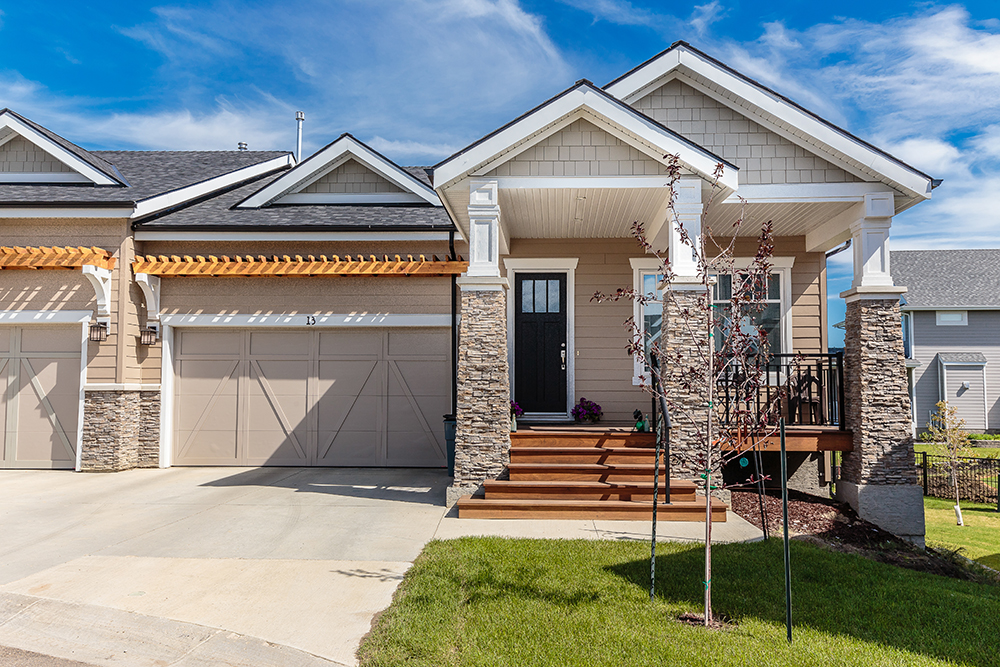 Homes in the Meadows area of Saskatoon by Arbutus Properties