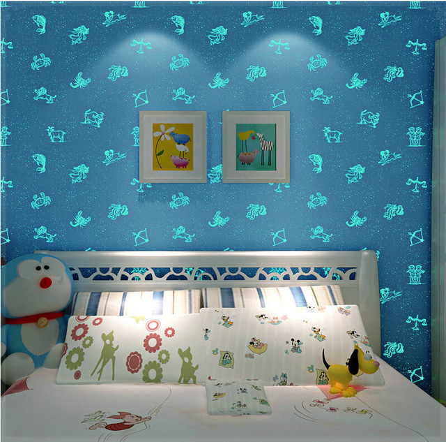Its Relatively Cheap Especially If You Just Pick A Feature Wall To Decorate Always Great Way Change The Room And Vibe From Day Night