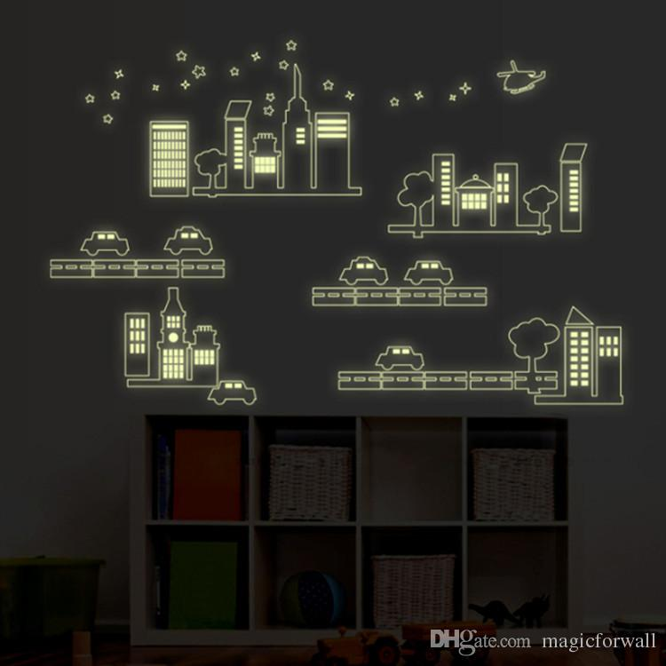 glow-in-the-dark-car-and-building-city-construction