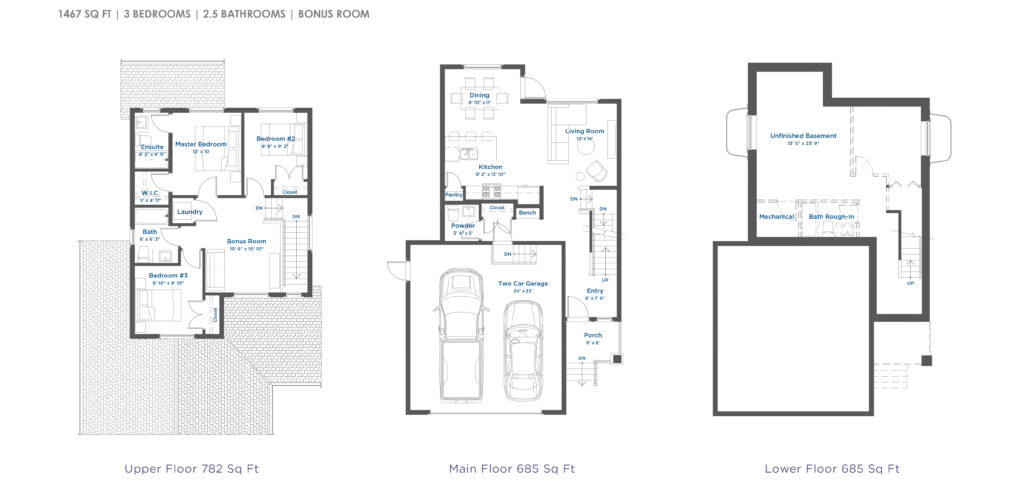 Burke home floorplan