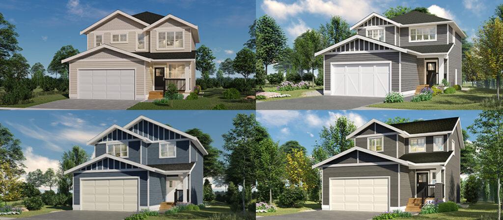 new single family homes