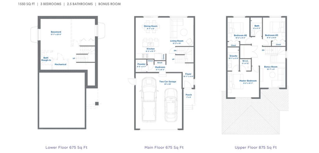 Riley floorplan